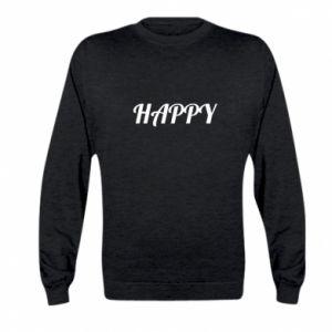 Bluza dziecięca Happy, napis