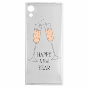 Sony Xperia XA1 Case Happy New Year