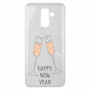 Samsung J8 2018 Case Happy New Year