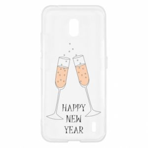 Nokia 2.2 Case Happy New Year