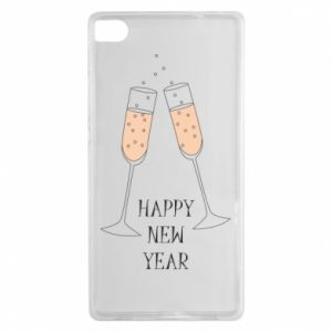 Huawei P8 Case Happy New Year