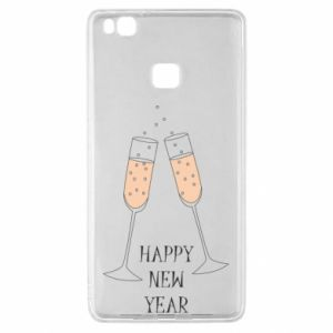 Huawei P9 Lite Case Happy New Year