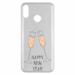 Huawei Y9 2019 Case Happy New Year