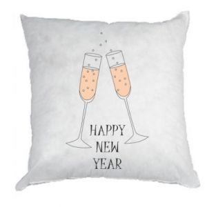 Pillow Happy New Year