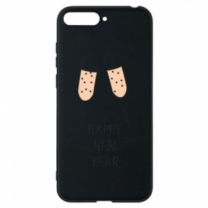 Phone case for Huawei Y6 2018 Happy New Year