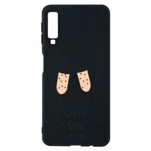 Phone case for Samsung A7 2018 Happy New Year