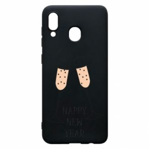 Phone case for Samsung A20 Happy New Year