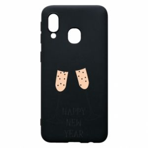 Phone case for Samsung A40 Happy New Year