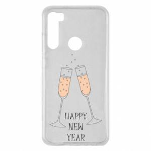 Xiaomi Redmi Note 8 Case Happy New Year