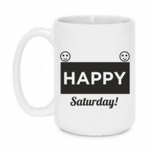 Kubek 450ml Happy Saturday