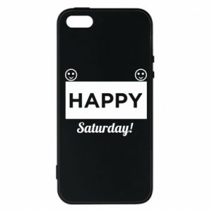 Etui na iPhone 5/5S/SE Happy Saturday