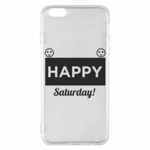 Etui na iPhone 6 Plus/6S Plus Happy Saturday