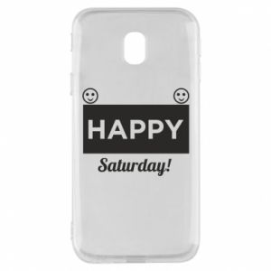 Etui na Samsung J3 2017 Happy Saturday