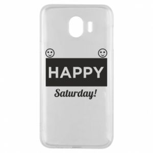 Etui na Samsung J4 Happy Saturday