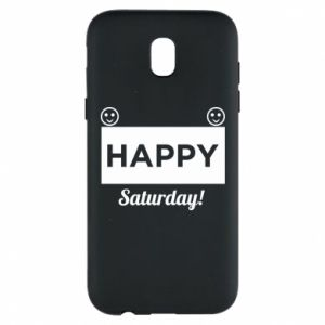 Etui na Samsung J5 2017 Happy Saturday