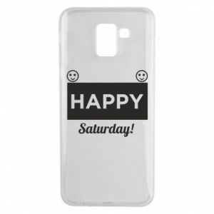 Etui na Samsung J6 Happy Saturday