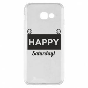 Etui na Samsung A5 2017 Happy Saturday