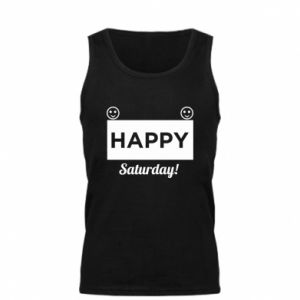 Męska koszulka Happy Saturday