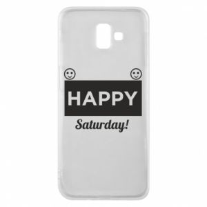 Etui na Samsung J6 Plus 2018 Happy Saturday