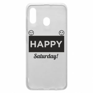 Etui na Samsung A30 Happy Saturday