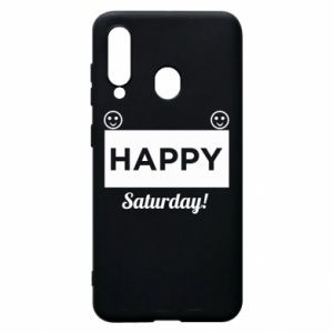 Etui na Samsung A60 Happy Saturday