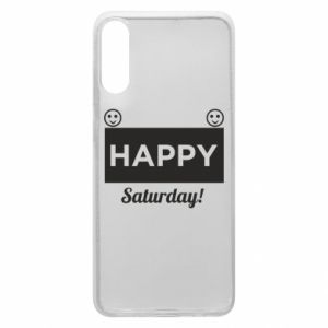 Etui na Samsung A70 Happy Saturday