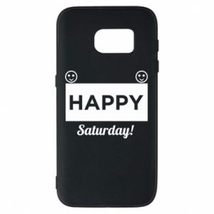 Etui na Samsung S7 Happy Saturday