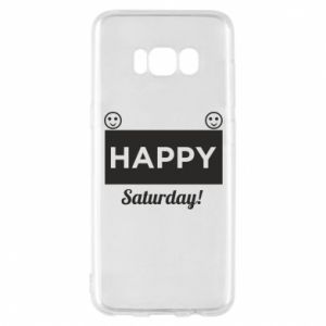 Etui na Samsung S8 Happy Saturday
