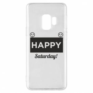 Etui na Samsung S9 Happy Saturday