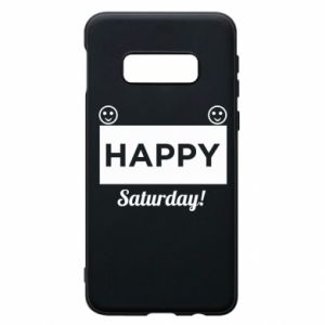 Etui na Samsung S10e Happy Saturday