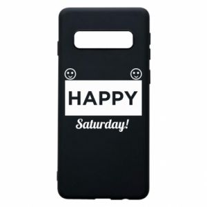 Etui na Samsung S10 Happy Saturday