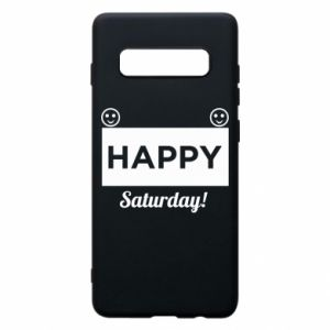 Etui na Samsung S10+ Happy Saturday