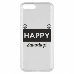 Etui na Xiaomi Mi6 Happy Saturday