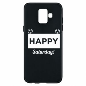 Etui na Samsung A6 2018 Happy Saturday
