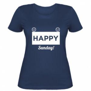 Damska koszulka Happy Sunday