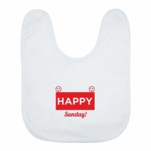Śliniak Happy Sunday