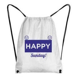 Plecak-worek Happy Sunday