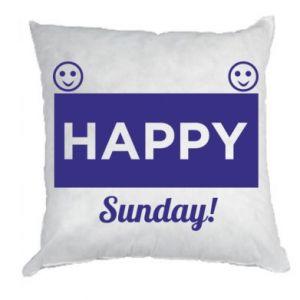 Poduszka Happy Sunday
