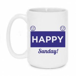 Kubek 450ml Happy Sunday
