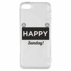 Etui na iPhone 5/5S/SE Happy Sunday