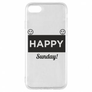Etui na iPhone 7 Happy Sunday
