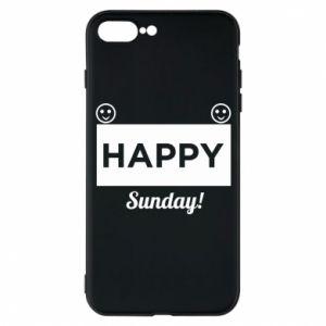Etui na iPhone 7 Plus Happy Sunday