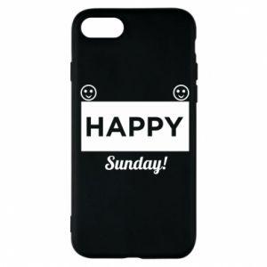 Etui na iPhone 8 Happy Sunday