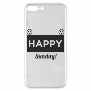 Etui na iPhone 8 Plus Happy Sunday