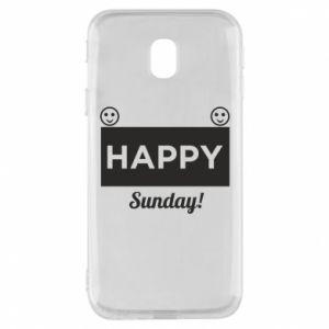 Etui na Samsung J3 2017 Happy Sunday