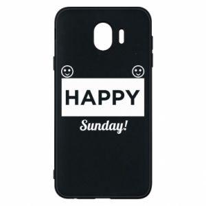 Etui na Samsung J4 Happy Sunday