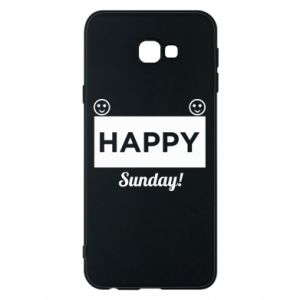 Etui na Samsung J4 Plus 2018 Happy Sunday