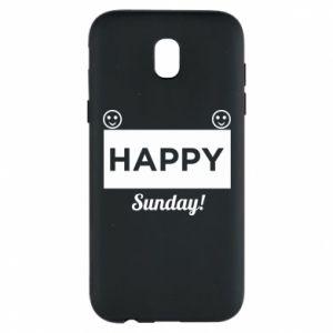 Etui na Samsung J5 2017 Happy Sunday