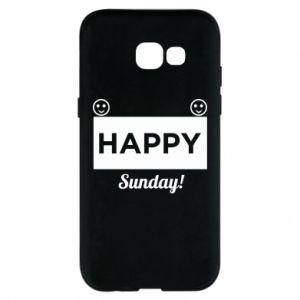Etui na Samsung A5 2017 Happy Sunday