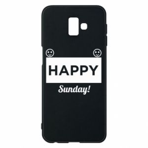 Etui na Samsung J6 Plus 2018 Happy Sunday